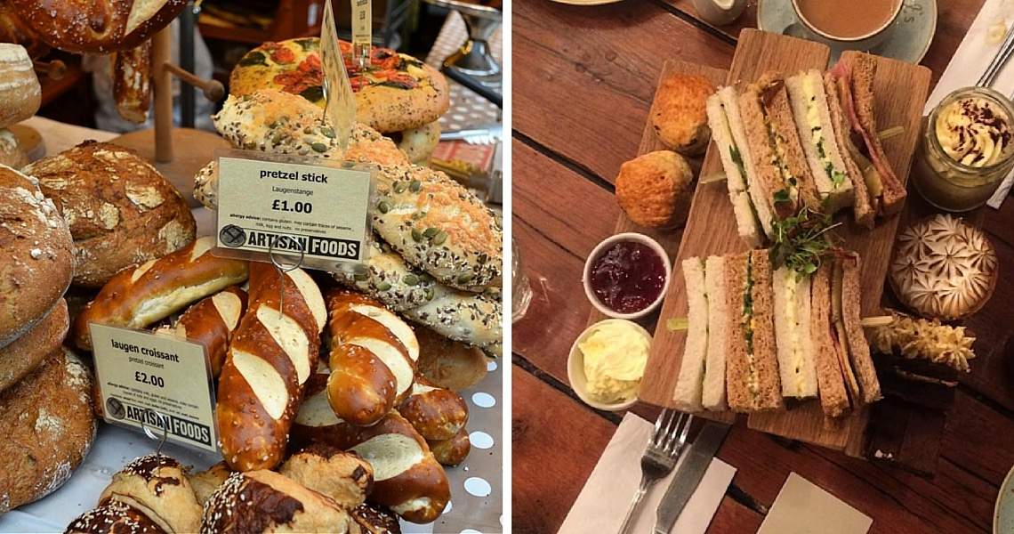 Bread at Borough Market is so fresh. For sandwichs and scones, Sketch in Mayfair is a must. (Photo credit: Sophie's Suitcase)