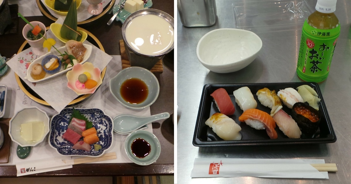 Tokyo features a wide range of both local and regional Japanese cuisine. (Photo Credit: Tamara Stuijt)