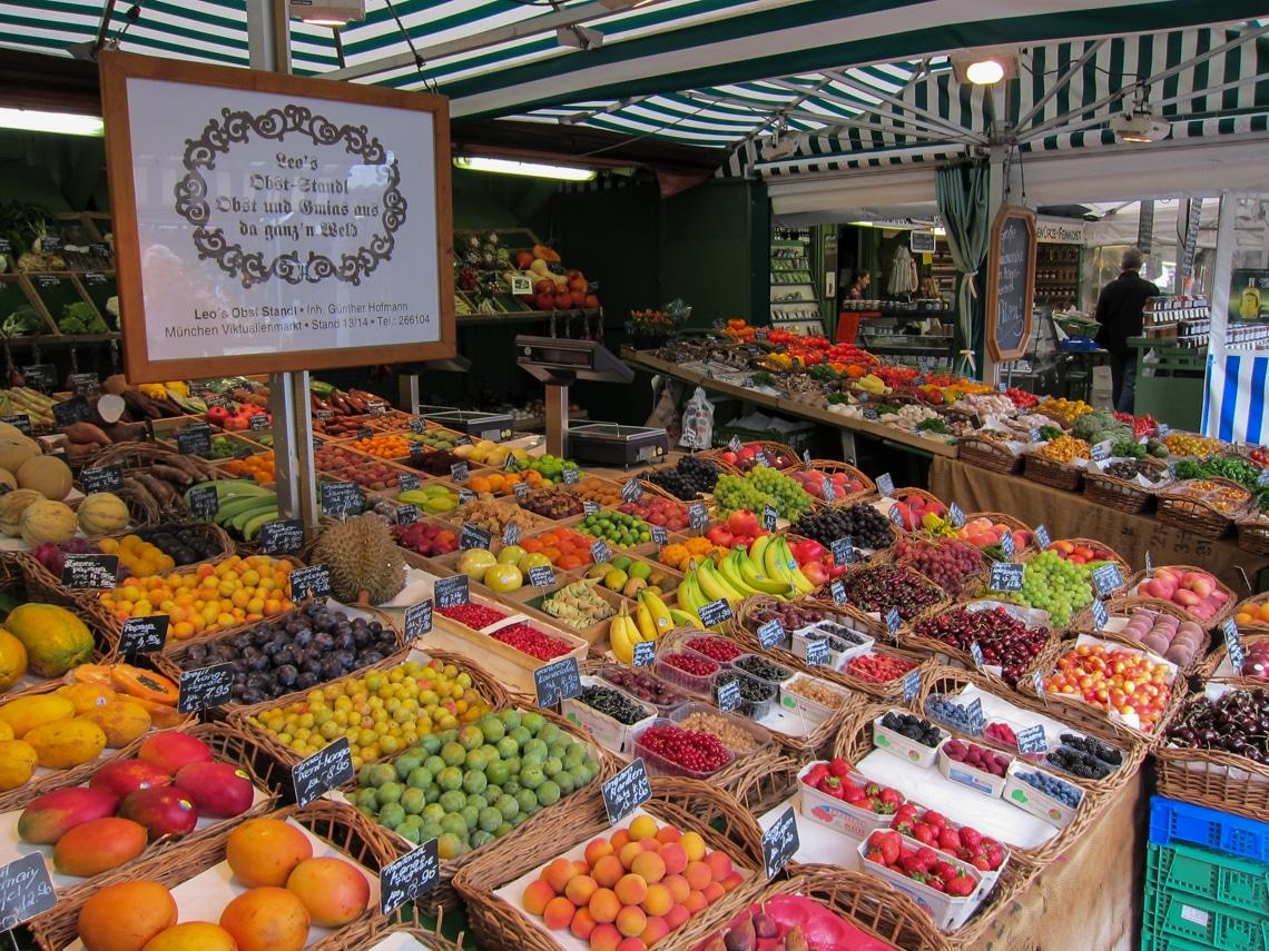 Viktualienmarkt Fruitstand