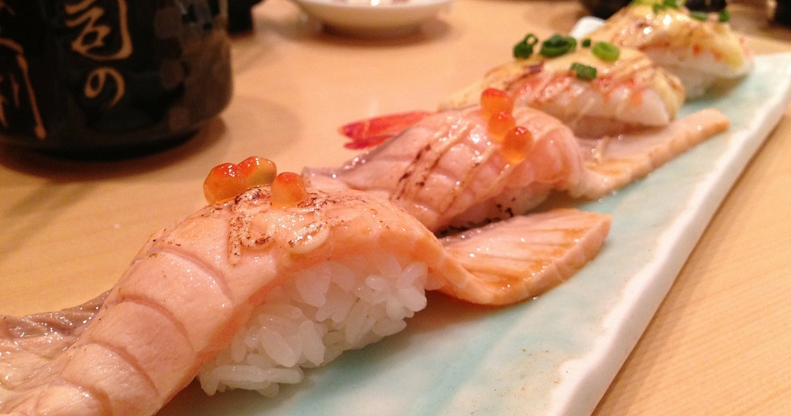 Don't miss Sushi no Midori in the heart of Shibuya. (photo credit: Celia in Tokyo)