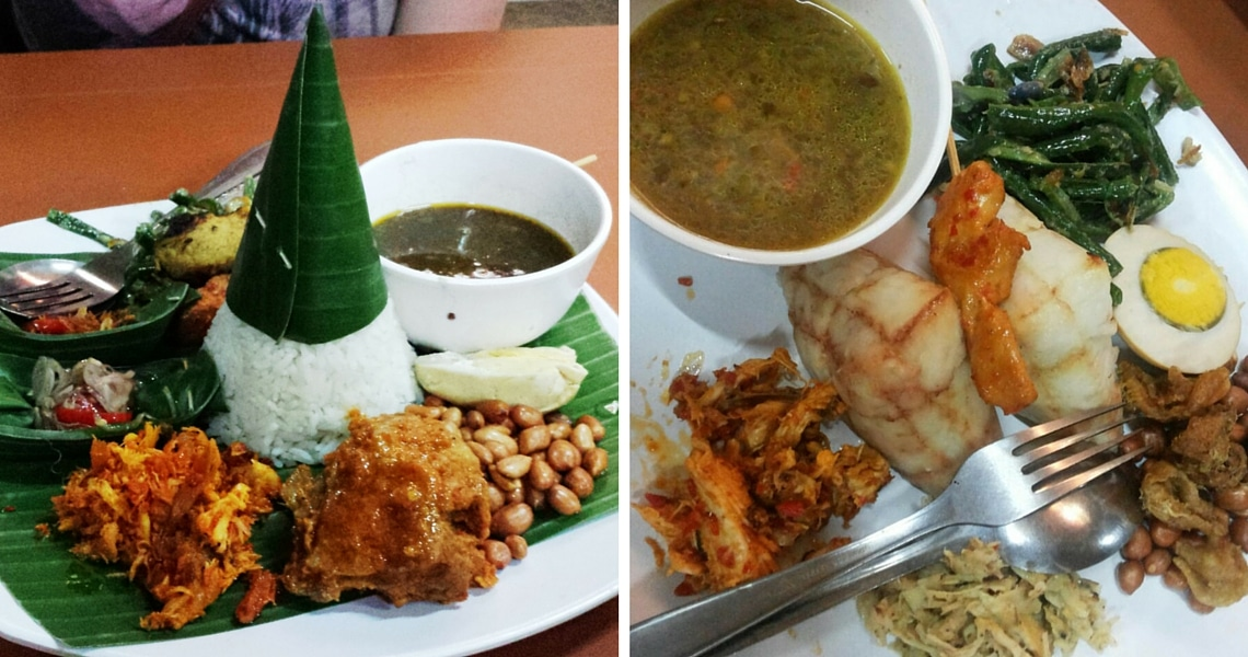 Babi Guling and Nasi Campur are local dishes you surely want to taste while in Bali. (Photo Credit: Daphne from Girlswanderlust)