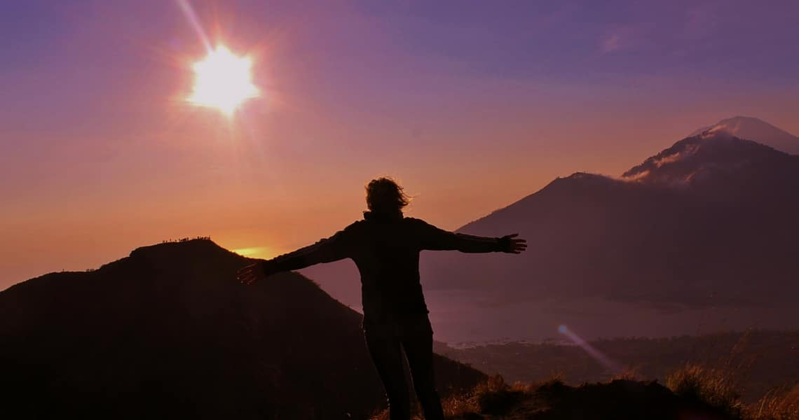Mount Batur Sunrise trekking is an incredible experience. (Photo credit: Daphne from Girlswanderlust)