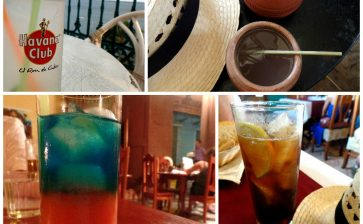 Rum Cocktails Around Cuba