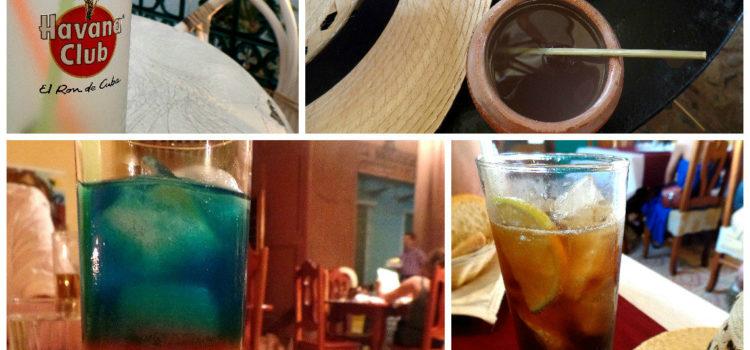 Rum Cocktails Around Cuba
