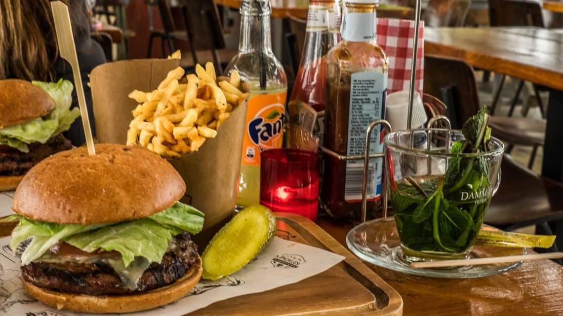 Pickles Burgers, good old fashioned burgers. (Photo Credit: Charlie ...