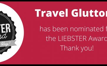 Liebster Award for Travel Gluttons