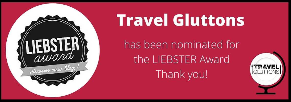 Thank you MariaAbroad for the nomination!