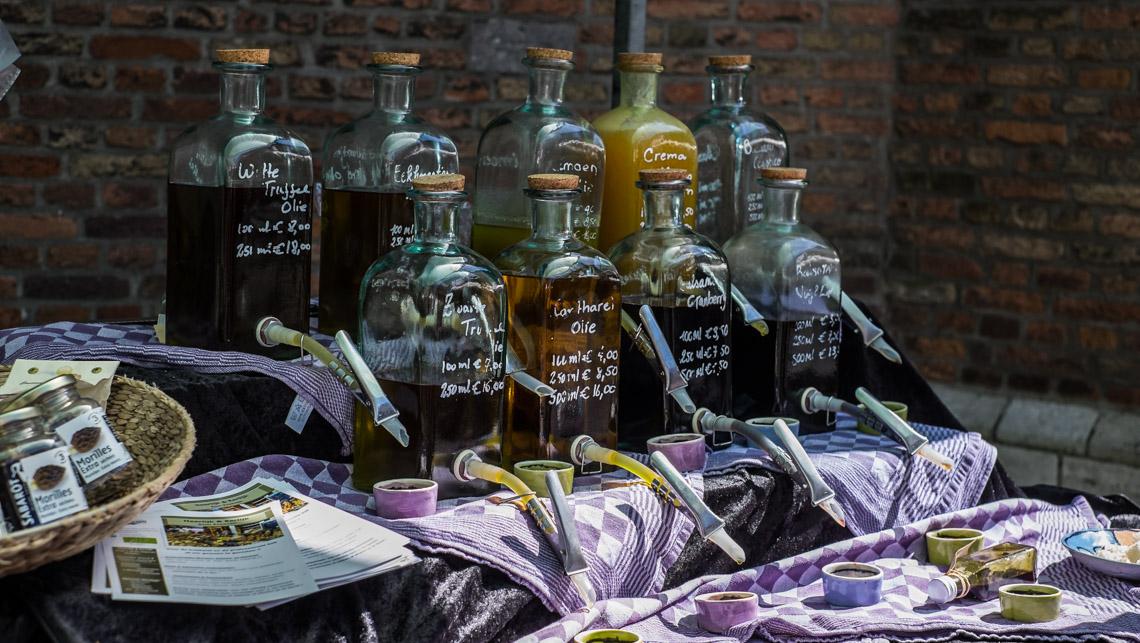 The Flavoured Oils at Heerlijk en Eerlijk at Swan Market