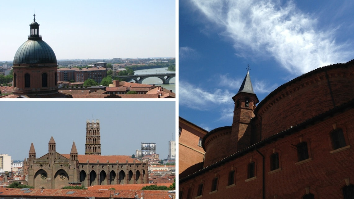 Views of Toulouse. (Photo Credit: Anne Dubaele-Le-Gac)