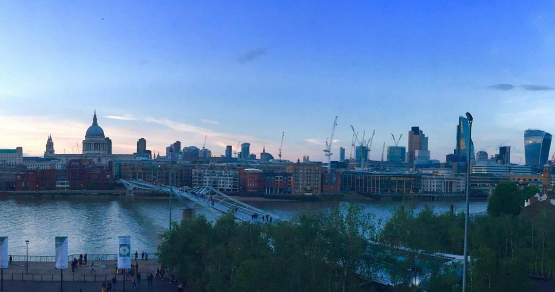 The view of Saint Pauls from the brand new Tate Modern is spectacular. (Photo credit by The Hibiscus Traveller)