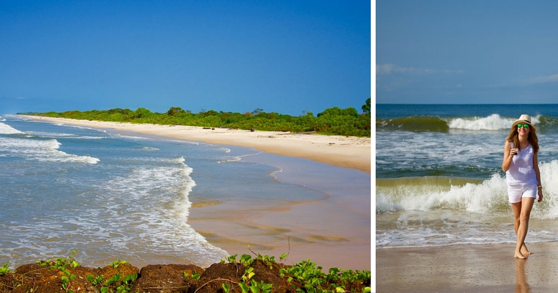 The famous white sand beaches of Gabon are not to be missed. (Photo Credit: Luba Fateeva)