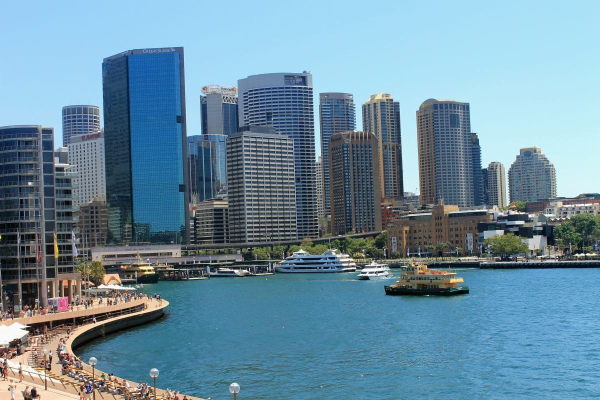 A stunning view of Sydney's harbour in Circular Quay. (Photo Credit: Soraya Lemmens)
