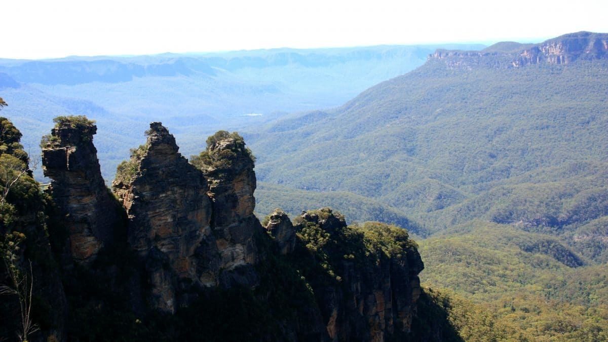 The Three Sisters look out point with the mesmerizing Blue Mountains. (Photo Credit: Soraya Lemmens)