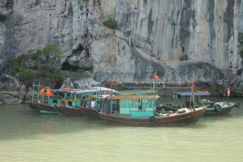 Floating fisherman village in Halong Bay. (Photo Credit: Soraya Lemmens)