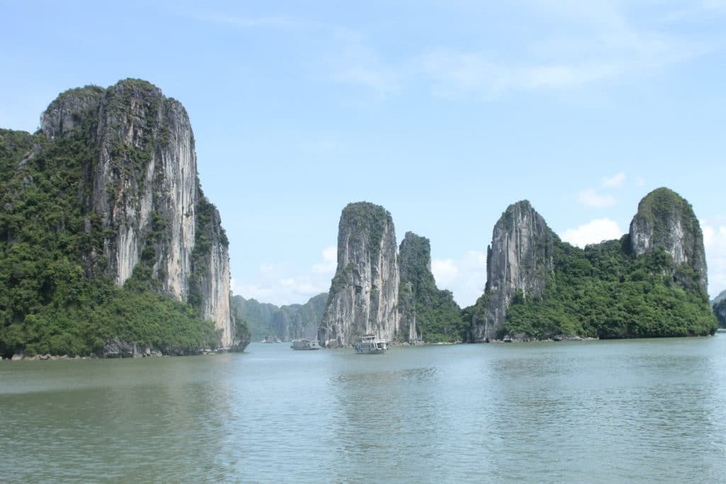 Halong Bay Limestone formation. (Photo Credit: Soraya Lemmens)