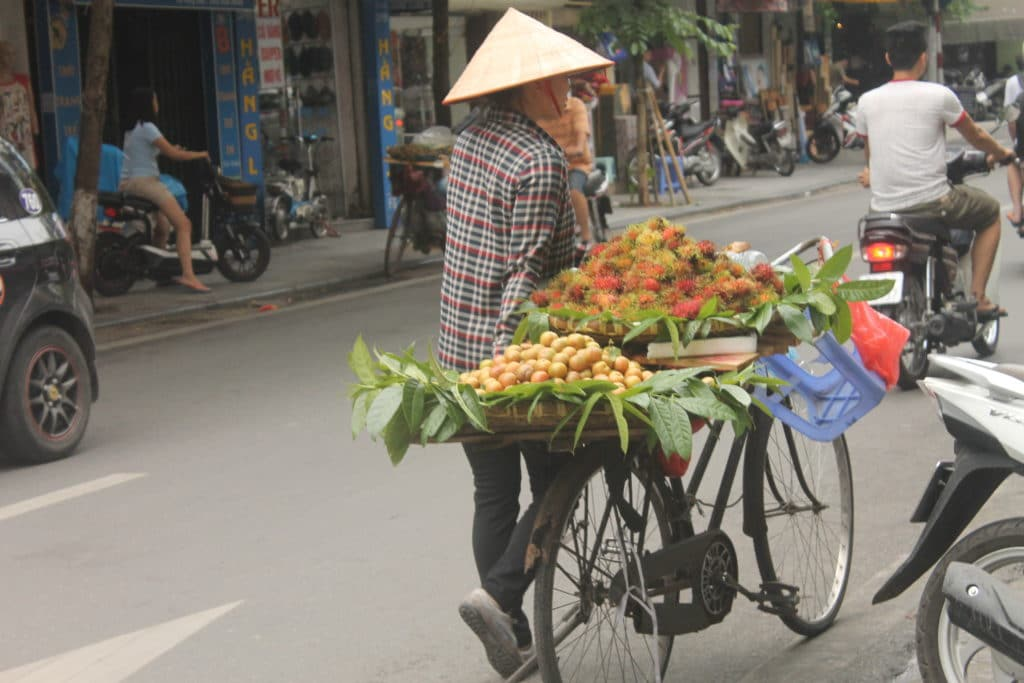 The Old Quarter of Hanoi. (Photo Credit: Soraya Lemmens)