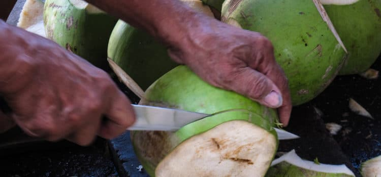 How to Eat: Young Coconut