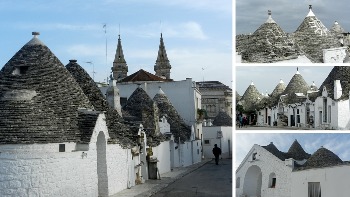 Alberobello : views of the trulli (Photo Credit: Françoise Catherin)
