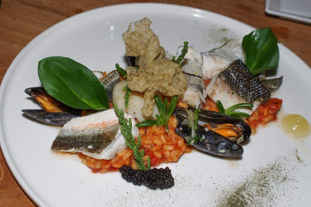 RestaurantCaracol FishPlate
