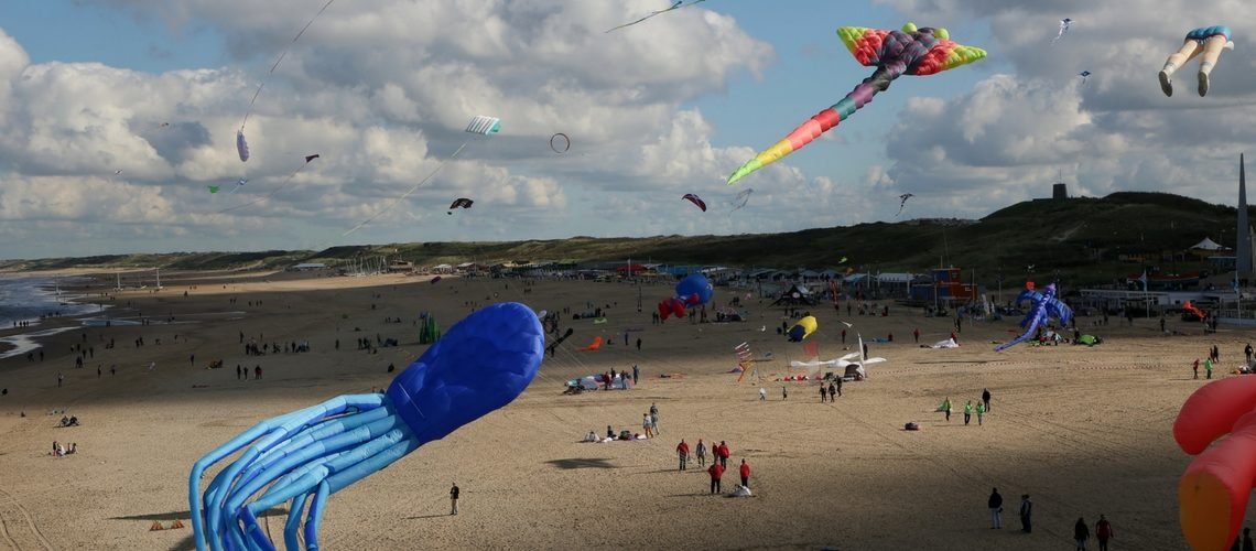 Flying Wonders at the International Kite Festival in Scheveningen
