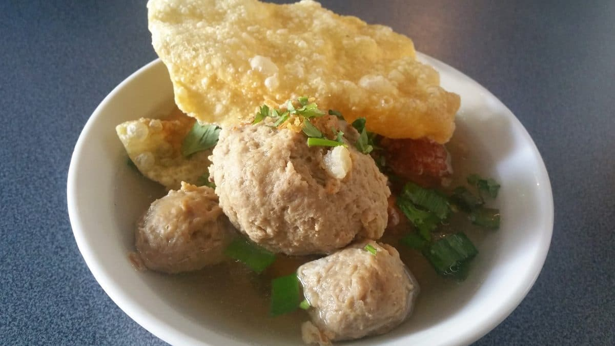 Bakso is a local delicacy from Java, Indonesia. (Photo Credit: NImas Norma)