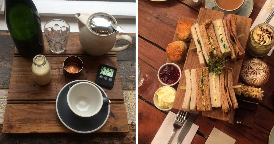 Afternoon tea, scones and sandwiches are so English. (Photo credit: Sophie's Suitcase)