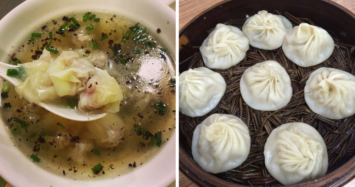 Try the wonton soup and the soup dumplings while in Shanghai. (Photo credit: Lemonsquash Blog)