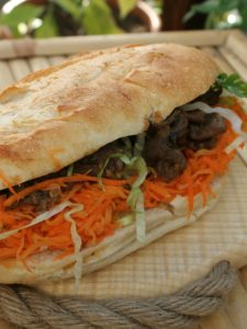 Food Postcard: Banh Mi