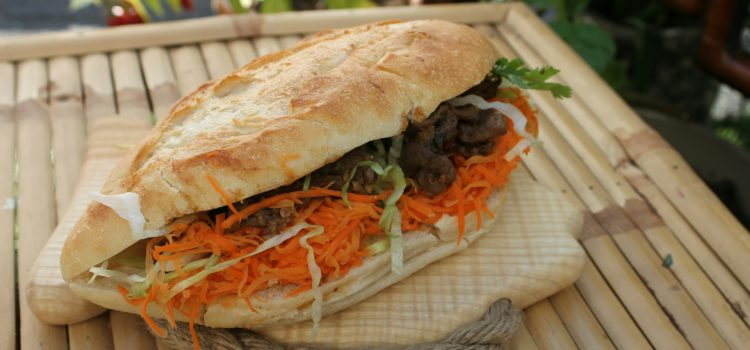 Food Postcard: Banh Mi
