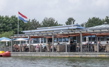 Restaurant: At the Waterfront, Vlietland, the Netherlands