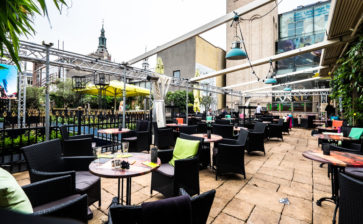 Restaurant: Grand Café Haagse Bluf, The Hague, the Netherlands