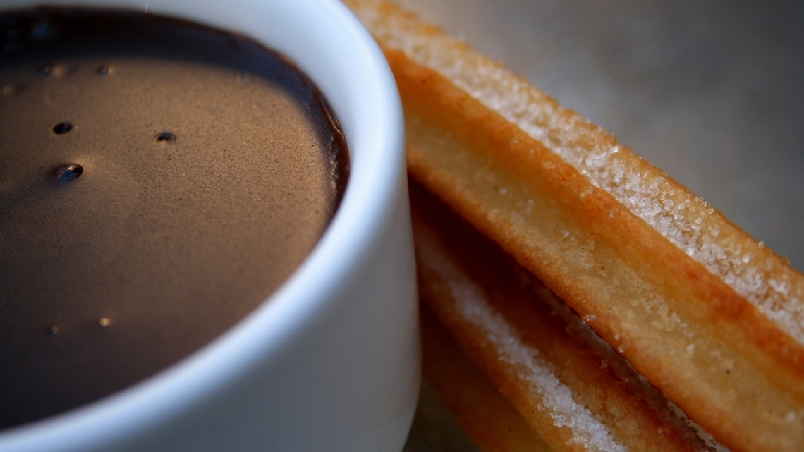 The best breakfast ever. (Photo Credit: Chocolate con Churros by Flickr User high__voltage, original image has been updated)