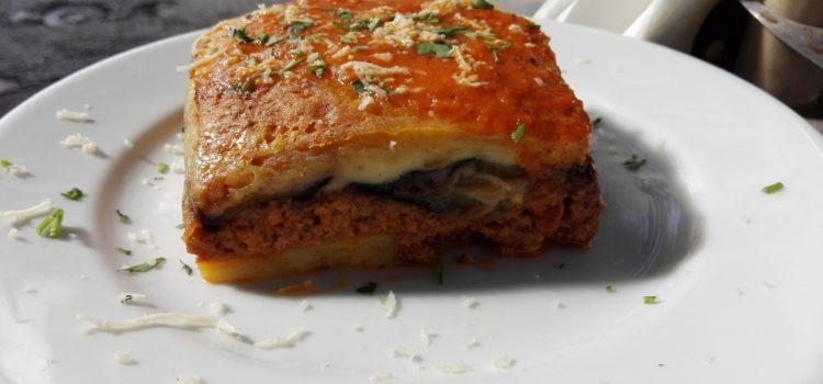 Food Postcard: Moussaka – A Tasteful Addition to a Wonderful Honeymoon in Greece