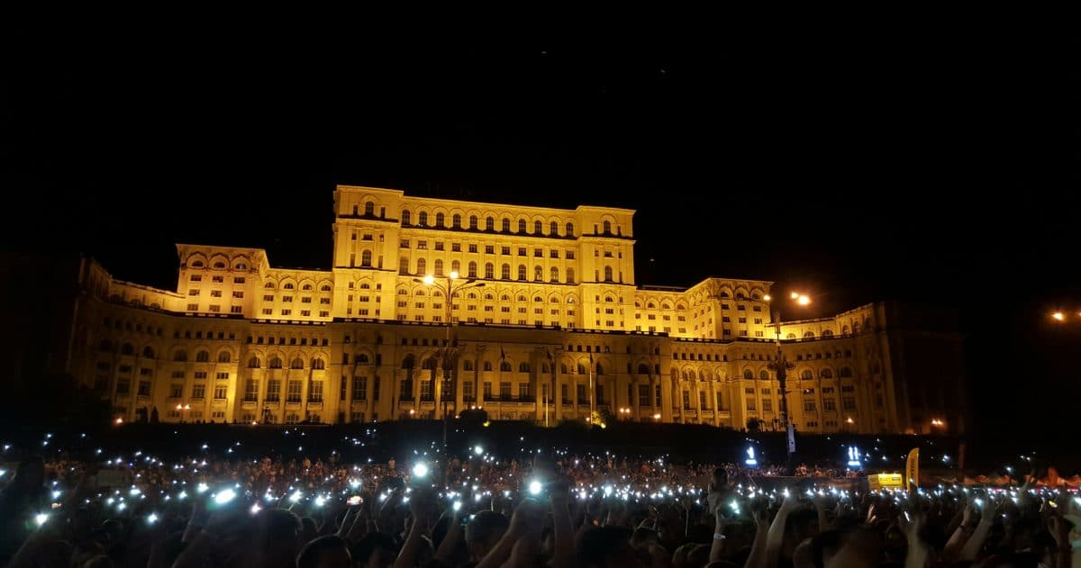 The Palace of Parliament is a symbol of Bucharest. (Photo Credit: Eff it... I'm on holiday)