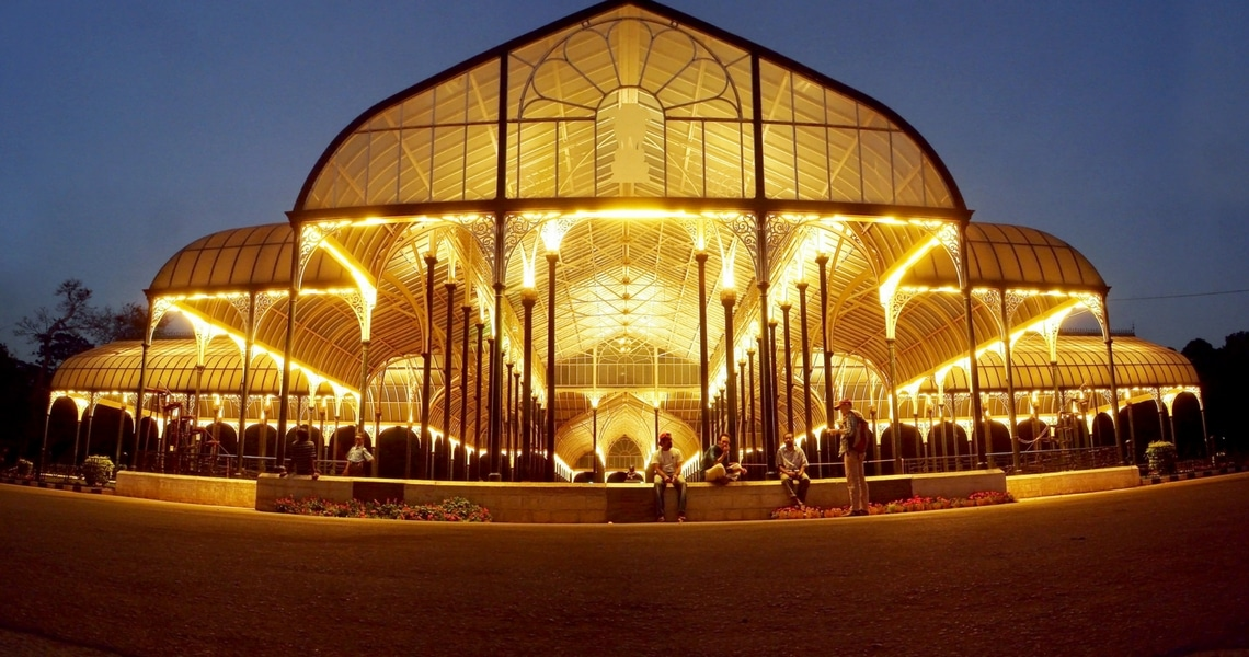 Lalbagh means The Red Garden in English and is a magnificent botanical garden in Bangalore. (Photo Credit: Voyager)