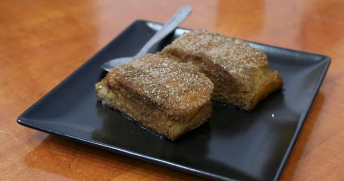 Have a bite of the Spanish version of French toast, Torrijas. (Photo Credit: Yann Cognieux)