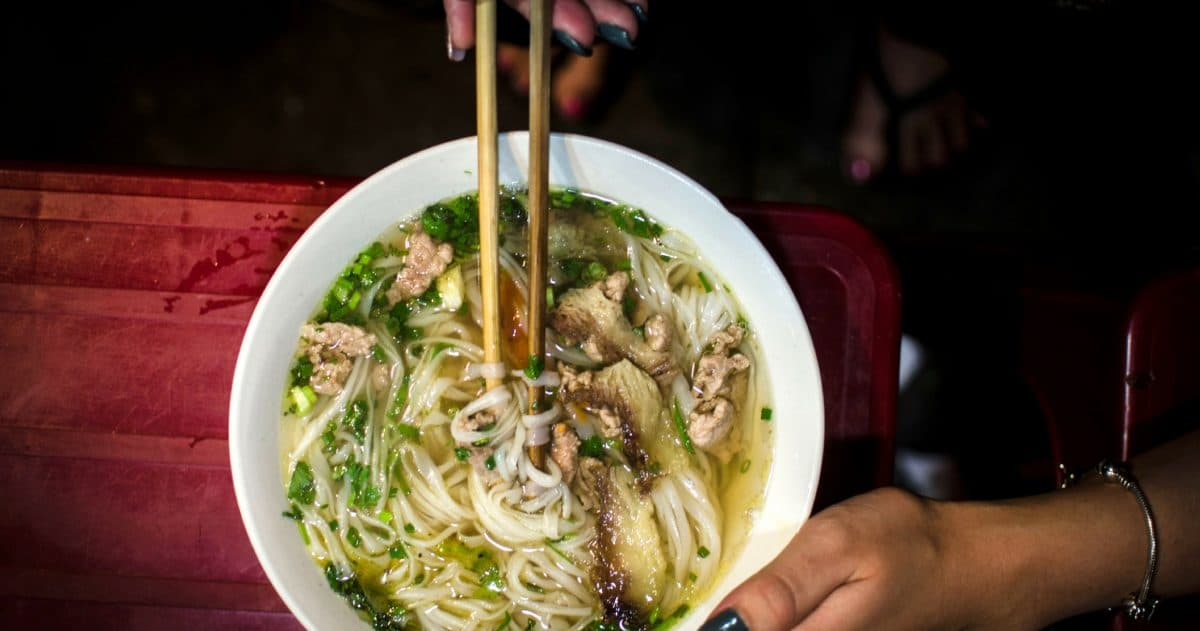 Pho is always a good option. (Photo Credit: Soe Thein)