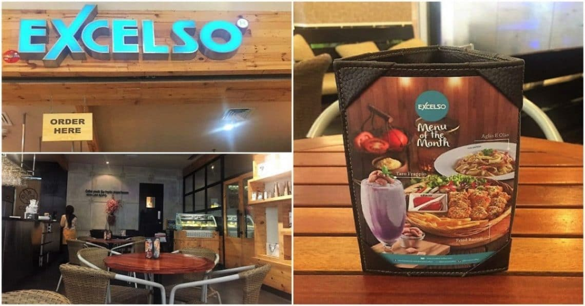 Excelso Coffee Cafe in Kota Kasablanka Mall Jakarta, Indonesia