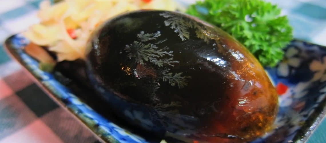 How to Eat: A Century Egg