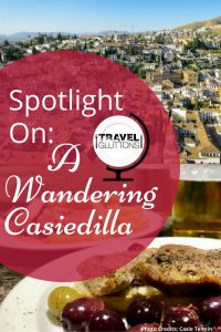 Meet Casie, an American girl living in Spain and the creator of the inspirational blog, A Wandering Casiedilla. She shares with us her passion for food and travel, and amazing tips about what to see and eat in Granada, Andalusia.