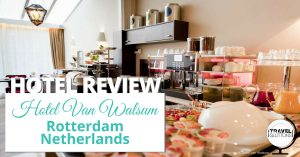 The Hotel Van Walsum in Rotterdam, Netherlands is a unique, homey spot in the middle of the bustling city. Click to read our hotel review. #travel #rotterdam #netherlands #hotel review #food